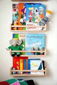 Shelves: Kid Wall Shelves Childrens Wall Shelves Ikea Nursery Wall Shelf  With Hooks Cool Picture