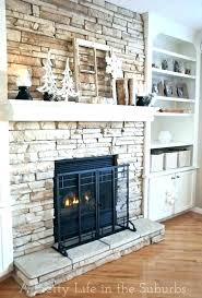 decorative stone fireplace surround lifehintoinfo faux stone fireplace surround diy faux stone fireplace surround
