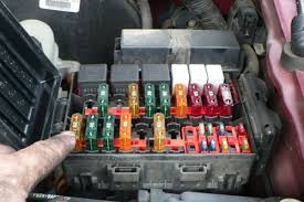 ford f250 f350 why is my truck losing power? ford trucks 2000 F350 V10 Fuse Diagram remove the 20a fuse 2000 ford f350 v10 fuse panel diagram