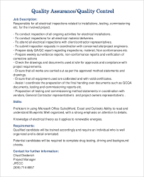 Qa Sample Resume Enchanting Resume For Qa Position