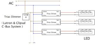 triac dimmable led tri proof lighting pc housing 1200mm 40w 4160lm a typical pwm wiring diagram is shown below