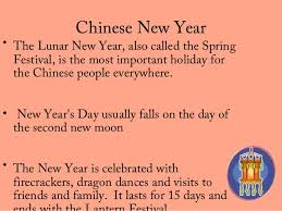 Chinese New Year Ppt Chinese New Year Customs And Traditions Ppt