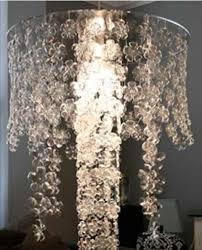 bottle chandelier source diy homemade plastic