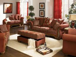 Traditional Living Room Sets Chenille Fabric Traditional Living Room Savona U142 Red