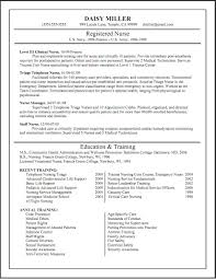 Samples Of Nursing Resumes Free Resume Example And Writing Download