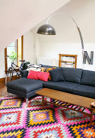 mintsix interior styling with kilim rugs