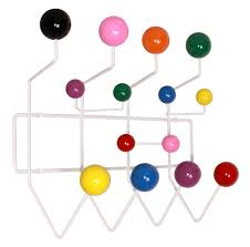 Eames Hang It All Coat Rack Multi Color Eeammes hang it all rack Coat Rack Hook Coat hangers 50