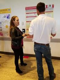 kaylee rowland phd student in the lamont group won third prize for her poster presentation at the national breeders roundtable in st louis the title of