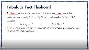 algebra 1 end of course test prep system of equations