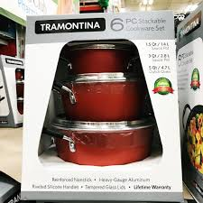 stackable cookware sets. Contemporary Cookware 6 Piece Stackable Cookware Set Intended Sets