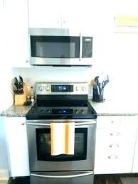 stove top microwave. Exellent Microwave Over The Range Oven Shelf Stove Top Microwave  Full Image For Intended E