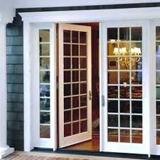 replacing sliding door with french doors replace attractive ideas glass garage how install gl