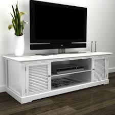 VidaXL <b>White Wooden TV</b> Stand - Coastal - <b>TV</b> Stands & Units - by ...