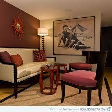 mesmerizing modern retro living room. 15 Mesmerizing Maroon Living Room Walls Modern Retro