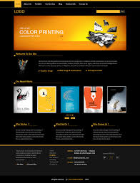 Company Portfolio Template My Work Graphic Design Company Portfolio Web Template Misc 4