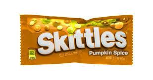 Pumpkin Spice Skittles