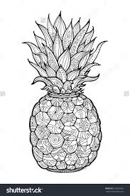 Small Picture Pineapple fruits coloring pages for kids printable free cars