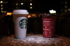 Starbucks Versus Tim Hortons In A Latte Showdown The Cord