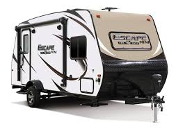 small travel trailers with bathroom. KZ Escape Mini M181RK Travel Trailer Small Trailers With Bathroom The Wandering RV