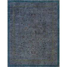 distressed wool rug rugs charcoal