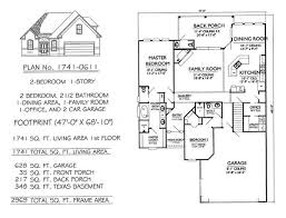 2 bedroom 2 bath house plans. Brilliant Bedroom 2 Bedroom 1 Story House Plans For Bedroom Bath House Plans