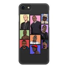 Чехол для iPhone 8, объёмная печать <b>Легенды Хип</b>-<b>Хопа</b>( <b>Рэпа</b> ...