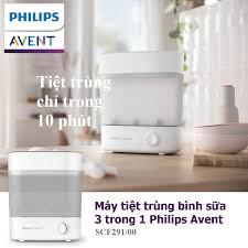 Máy tiệt trùng bình sữa 3 trong 1 Philips Avent Starlight SCF291/00