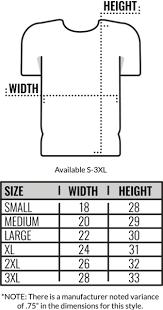 Gildan Tee Shirt Size Chart Gildan T Shirts