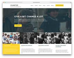 How To Design A Charity Website 20 Free Charity Wordpress Themes For Your Foundation Or Ngo