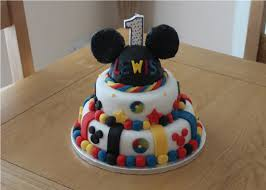 Mickey Mouse Birthday Cake Designs Wedding Academy Creative