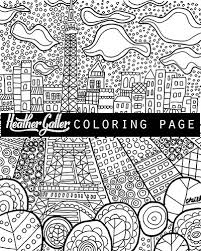 Small Picture Paris Eiffel Tower DIY Instant Coloring Book Page art Digital