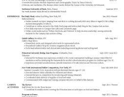 Student Resume Objective Good Resume Samples