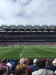 Croke Park Section 307 Home Of Dublin Gaa