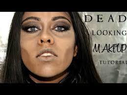 last minute easy dead looking makeup