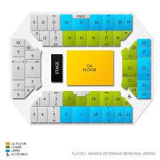 Floyd L Maines Veterans Memorial Arena Seating Chart Floyd L Maines Veterans Memorial Arena 2019 Seating Chart