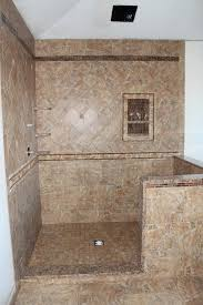 appealing emser tile wall with wall shelves and sloped ceiling for small bathroom design