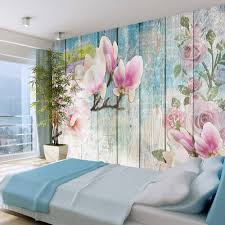 Fotobehang Roze Bloemen Op Hout Karo Art Vof