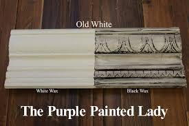 antique white chalk paintChalk Paint Sample Board Colors all in a row  The Purple