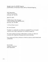 Community Service Hours Letter Template Community Service Letter 40