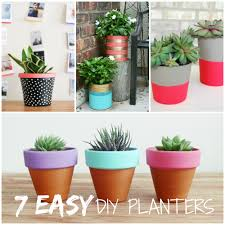 7 Easy DIY Planters for Spring