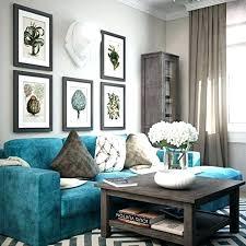 grey teal wallpaper living room room
