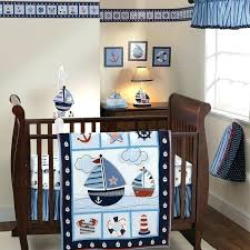 nautical bedding set attractive sailboat baby crib sets twin girl