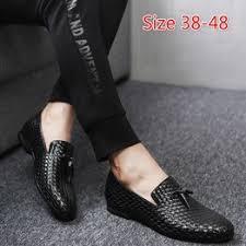 <b>Men's</b> Fashion Loafers Solid Color Casual <b>Tassel</b> Dress <b>Shoes</b> ...