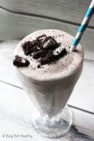 cookies cream protein milkshake