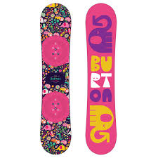 Burton Chicklet Size Chart Burton Chicklet Snowboard Girls 2019