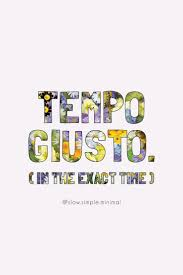 tempo giusto finding joy simple living wise es motivation inspiration minimalism
