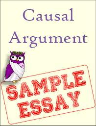 sample causal argument excelsior college owl