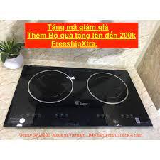 Bếp từ đôi Genny GN-222T - Bếp điện từ 2 lò - Bảo hành chính hãng 2