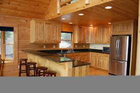 Rustic Hickory Kitchen Cabinets Home Furniture Ideas