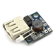 DZS Elec <b>2pcs</b> Mini DC <b>3V to 5V</b> 2A USB Ou- Buy Online in ...